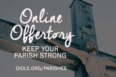 Online Offertory | Keep your parish strong